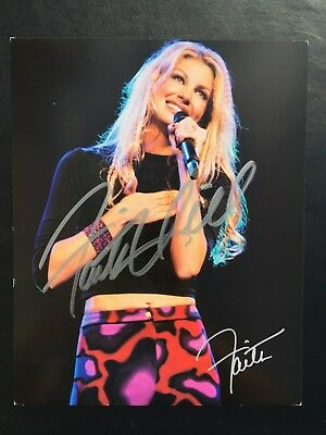 Country Music Faith Hill Signed Photo Autographed 8x10 Photo, McGraw