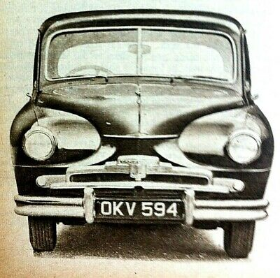 STANDARD VANGUARD DIESEL -1954 - *2* Road Tests from TheAutocar+The Motor + More