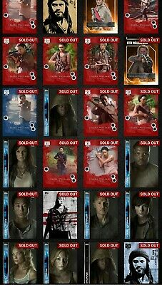Topps Fear/ The Walking Dead Selling ALL cards Awards Inserts 2 for $1 [Digital]