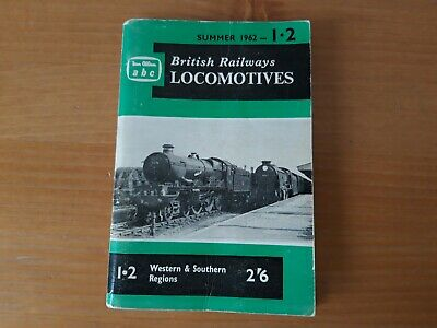IAN ALLAN abc BRITISH RAILWAYS LOCOMOTIVES G.W.R & S R 1962 UNMARKED