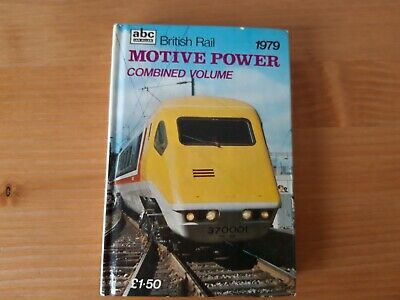 IAN ALLAN abc BRITISH RAIL MOTIVE POWER COMBINED VOLUME 1979 UNMARKED