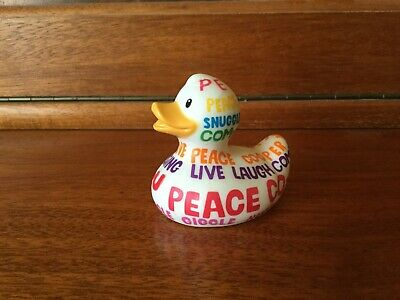 BUD Collectable MINI Rubber Duck - POSITIVE POEM (2009)
