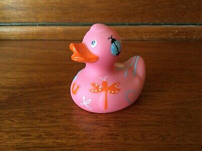 BUD Collectable MINI Rubber Duck - DAYDREAMER (2007) - pink