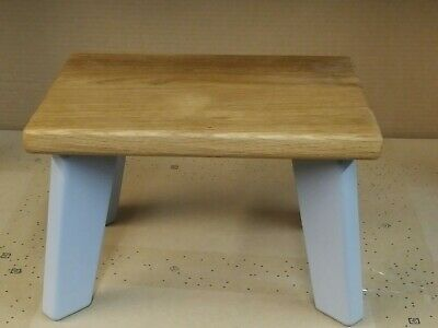 Oak Grey Children StepStool, Kids Stool,Chair (Sturdy) Boys&Girls