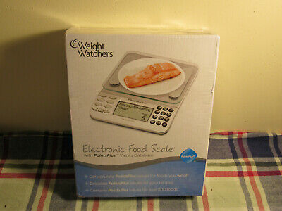 Weight Watchers Points Plus Electronic Food Scale in Sealed Box