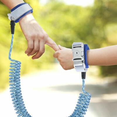 Toddler Kids Baby Anti-lost Safety Walking Harness Wrist Link Hand Strap Leash p