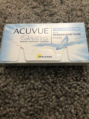 Acuvue Oasys Contact Lenses for Astigmatism 1.25