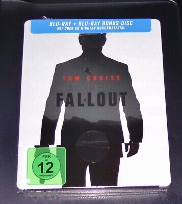 Mission: Impossible 6 Fallout Tom Cruise Limitierte Steelbook Blu Ray Neu & Ovp