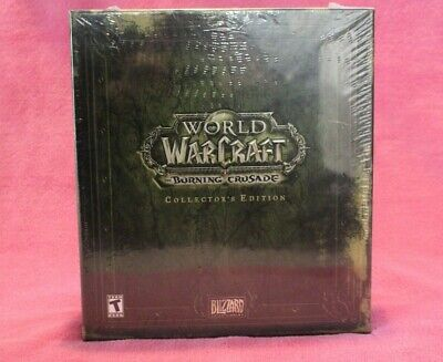 New! World Of Warcraft 'The Burning Crusade' Collector's Edition, Blizzard