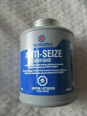 NEW Permatex Anti Seize Silver Grade 454 Grams or 16 Oz.