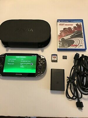 Sony PS Vita - PCH-1001 Need For Speed 4 GB Memory Card 3.70 Firmware