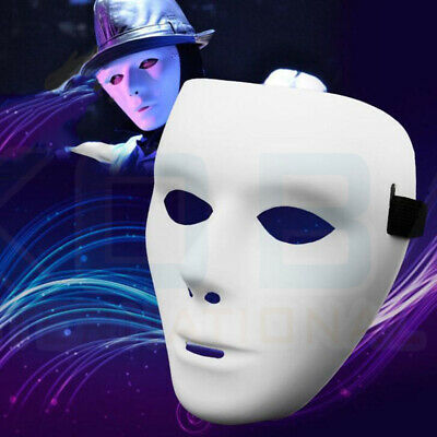DIY Full Face Mask Party Weddings Cosplay Costume Carnival Mask Dance Paintable