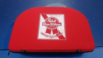 RARE Pabst Blue Ribbon Beer Promotional Advertising Yard Lawn Bocce Ball Set Bag
