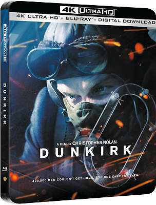 Dunkirk (Dunkerque) 4K+2D Blu-Ray Steelbook Zavvi Exclusive [UK]