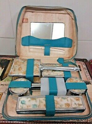 Vintage TWO-TIX Full  Grooming Set Made In England