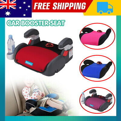 Child Car Booster Seat Chair Cushion Pad Mat For Toddler Children Kids Sturdy AU