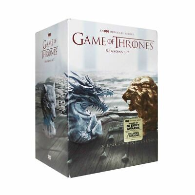 Game Of Thrones Complete Series DVD Seasons 1 2 3 4 5 6 7 DVD New Box Set 1-7