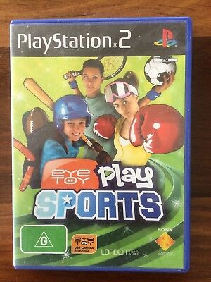 PLAY STATION 2 EYE TOY SPORTS GAME combine post & save