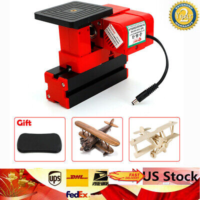 DIY Wood Woodworking Mini Saw Machine Sawing Cuting Jig-saw 24W 20000 rpm
