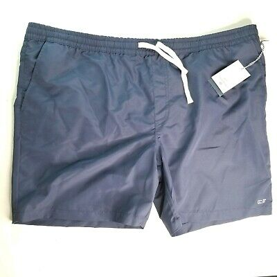 9fab3491db5b1 Vineyard Vines Target Mens Navy Swim Trunks Shorts Bathing Suit whale 2xL  NEW