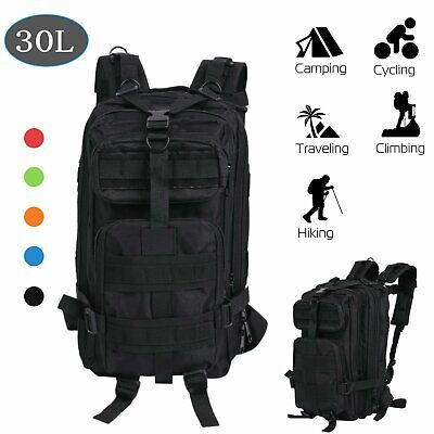 30L Outdoor Military Rucksacks Tactical Backpack Camping Hiking Trekking Bag