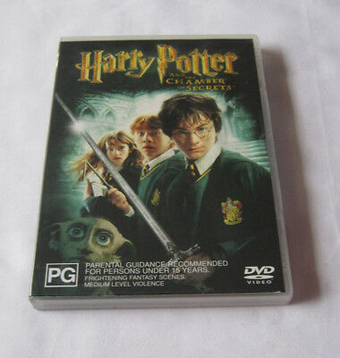 Harry Potter and the Chamber of Secrets DVD 2003 including special feature disc