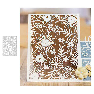 Hollow Flower Metal Cutting Dies DIY Scrapbook Paper Card Album Photo Stencil