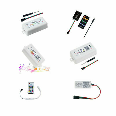 LED Light Controller Music Bluetooth Wifi SP105E SP107E SP108E SP110 for WS2812B