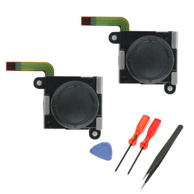 2 x Analog Joystick Thumbstick Rocker Module with tools for Switch Joy-Con sdf