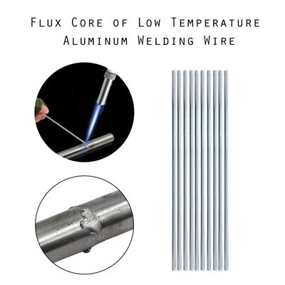 Low Temperature Aluminum Welding Solder Wire Brazing Repair Rods 500mm x 2mm AU