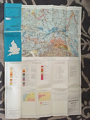COCKERMOUTH Institute of Geological Sciences Map  Sheet 23 Drift edition