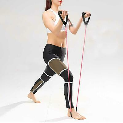 Resistance Stretch Rubber Band Training Rope Tube Workout Exercise for Yoga Gym