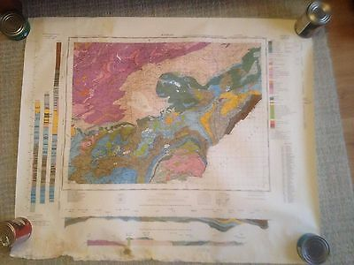KINROSS Geological Survey of Great Britain Map  solid sheet 40