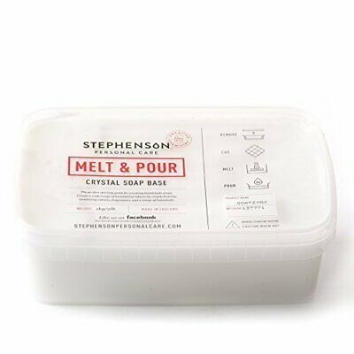 NEW Melt And Pour Soap Base Goat S Milk 2Kg 2 X 1Kg Block Of Melt And Po PREMIUM