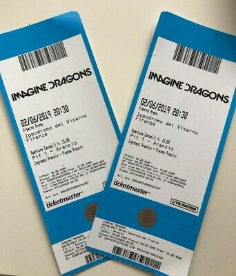 IMAGINE DRAGONS, 2 biglietti, Firenze 2019