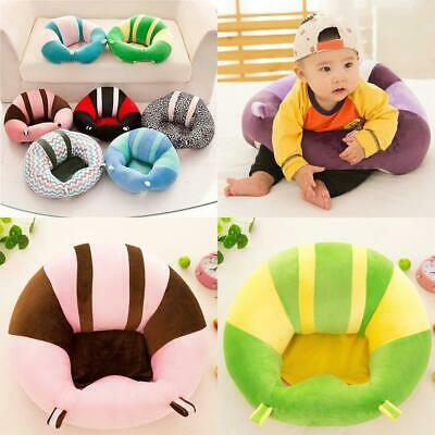 Soft Cute Print Baby Support Seat Sofa Baby Learning Chair Plush Toy 9G67 02
