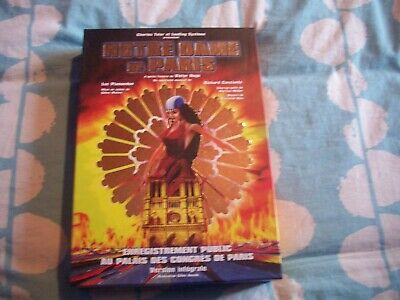 DVD Notre Dame de Paris spectacle musical