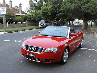 up for sale is a 2005 audi a4 3.0 convertable v6 low ks wont last