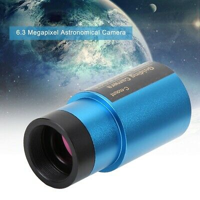 """6.3 Megapixel Astronomical Camera Astrophotography USB3.0 HD 1.25"""" For Telescope"""