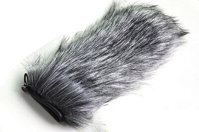 24cm Furry Windscreen Windshield Wind Muff For Camcorder Camera Microphone Mic