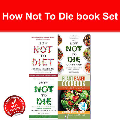 How Not To Die Cookbook Books Set Bosh Simple Recipes, Plant Based Cookbook