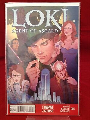 Loki Agent Of Asgard #5 2014 Marvel Comics Thor