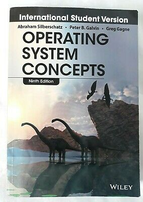 Operating System Concepts Ninth Edition, Wiley, Vgc!