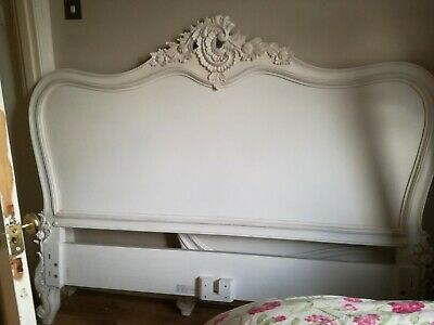 Sweetpea And Willow White French Style King Size Bed