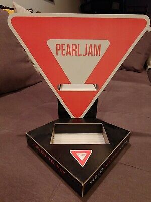 Pearl Jam Yield Given To Fly Rare Promo Sign no CD LP