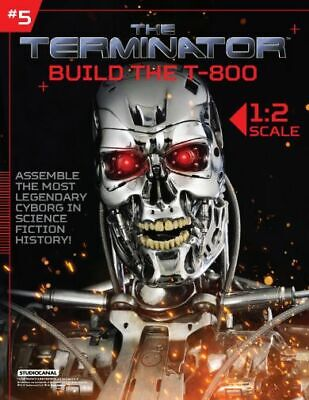 Hachette Issue # 5 The Terminator T-800 Endoskeleton Build Your Own Model Small