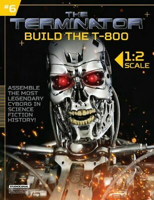 Hachette Issue # 6 The Terminator T-800 Endoskeleton Build Your Own Model Small