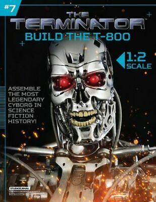 Hachette Issue # 7 The Terminator T-800 Endoskeleton Build Your Own Model Small