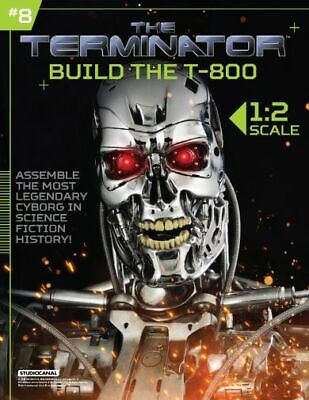 Hachette Issue # 8 The Terminator T-800 Endoskeleton Build Your Own Model Small