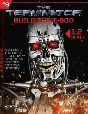 Hachette Issue # 9 The Terminator T-800 Endoskeleton Build Your Own Model Small